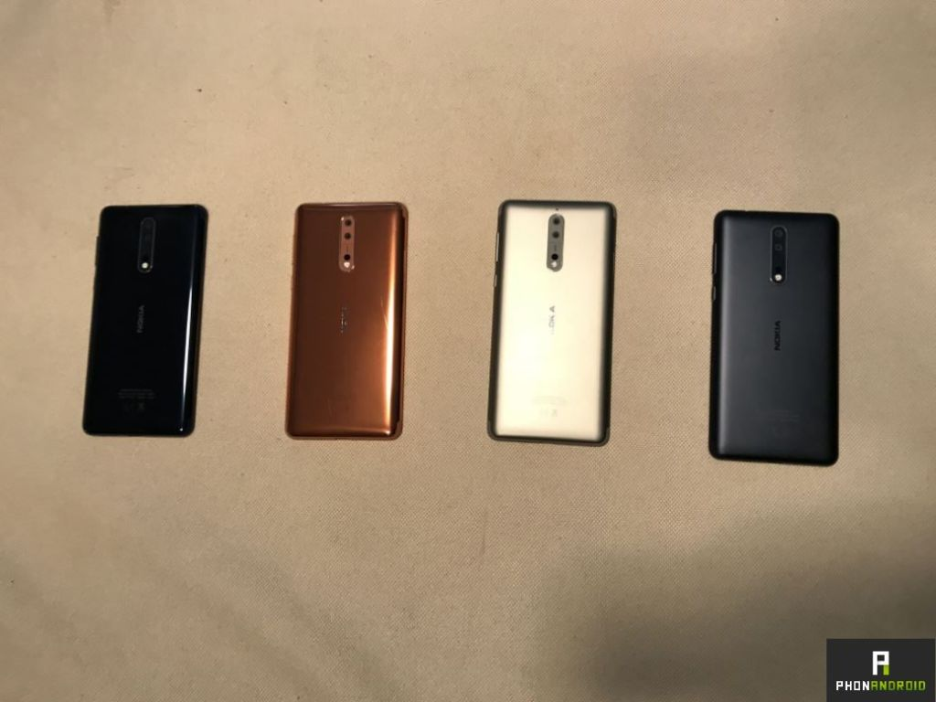 Nokia 8 prise en main