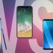 iphone galaxy note LG V30