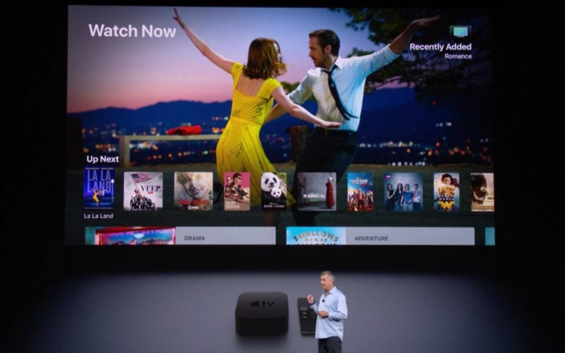 apple tv 4K officielle