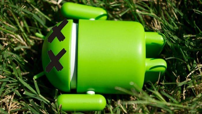 windows 10 bug android perte fichiers données
