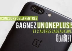 concours gearbest one plus 5