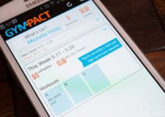 gympact application sportive android