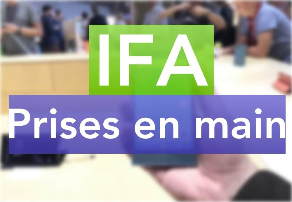 ifa recap prises en main