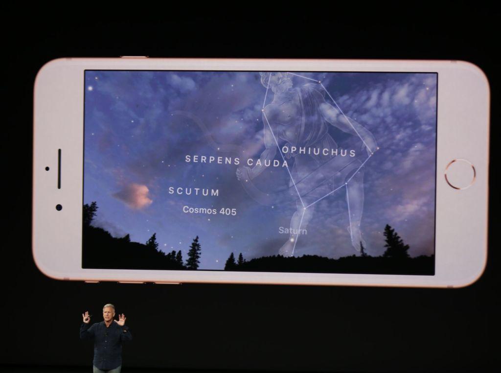 iphone 8 réalité augmentée