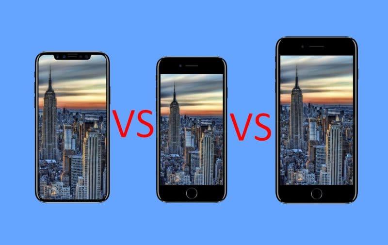 iphone x iphone 8 et iphone 8 plus le plus cher est il. Black Bedroom Furniture Sets. Home Design Ideas
