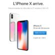 iphone x prix france