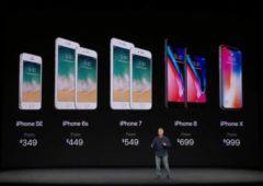 iphone x precommandes