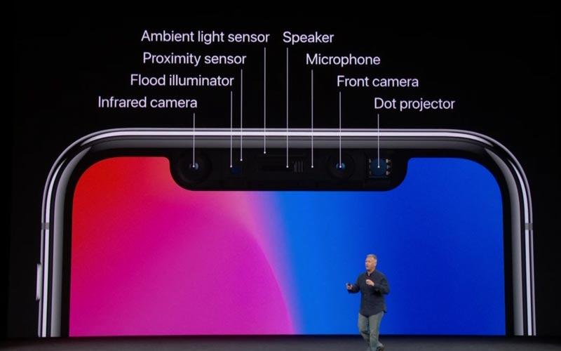 iphone x barre noire