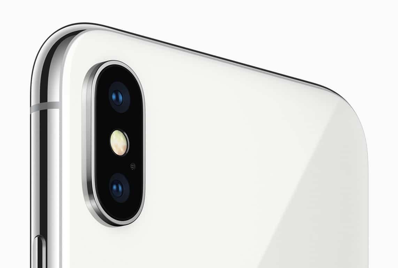 iPhone X avec un appareil photo triple capteur pour 2019.