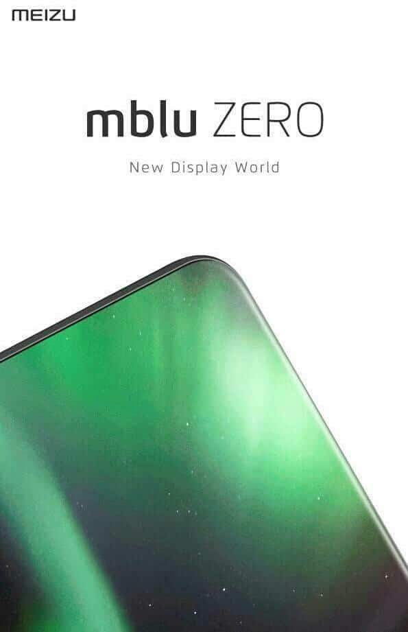 Meizu mblu zero design rendu