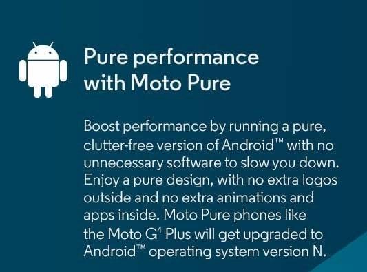 android moto g4 motorola