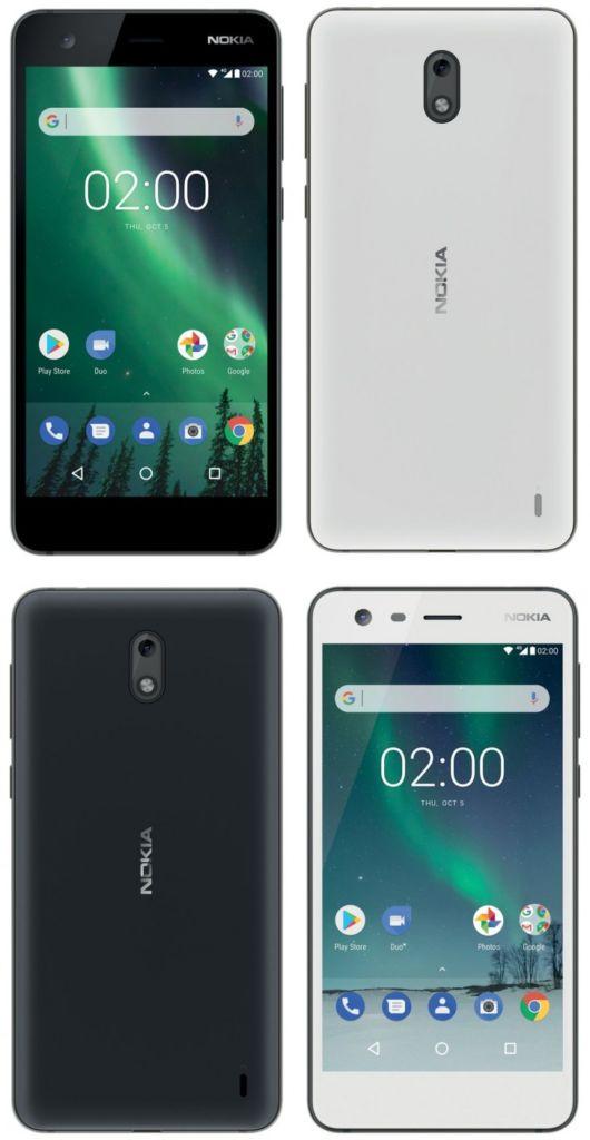 nokia 2 rendus design smartphone