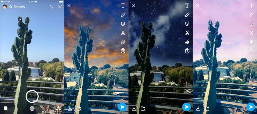 sky filters