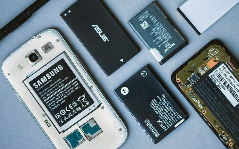 smartphone batteries