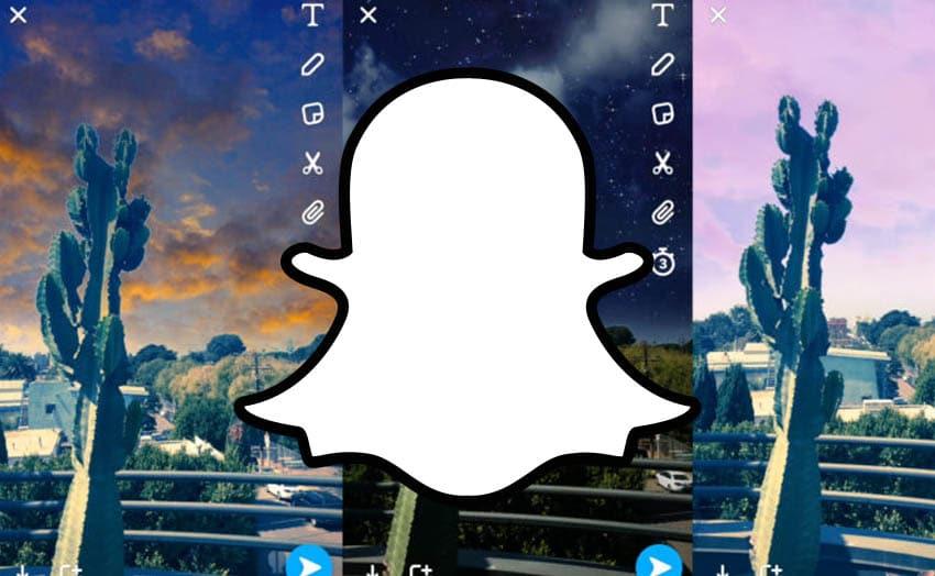 snapchat sky filters