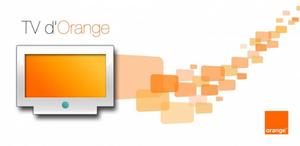 televiseur orange 4k
