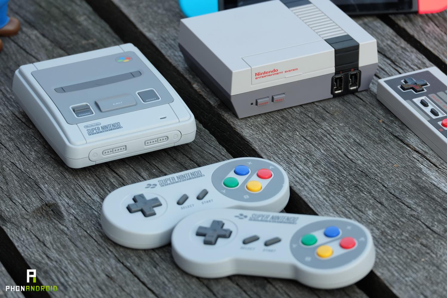 snes classic mini carton france