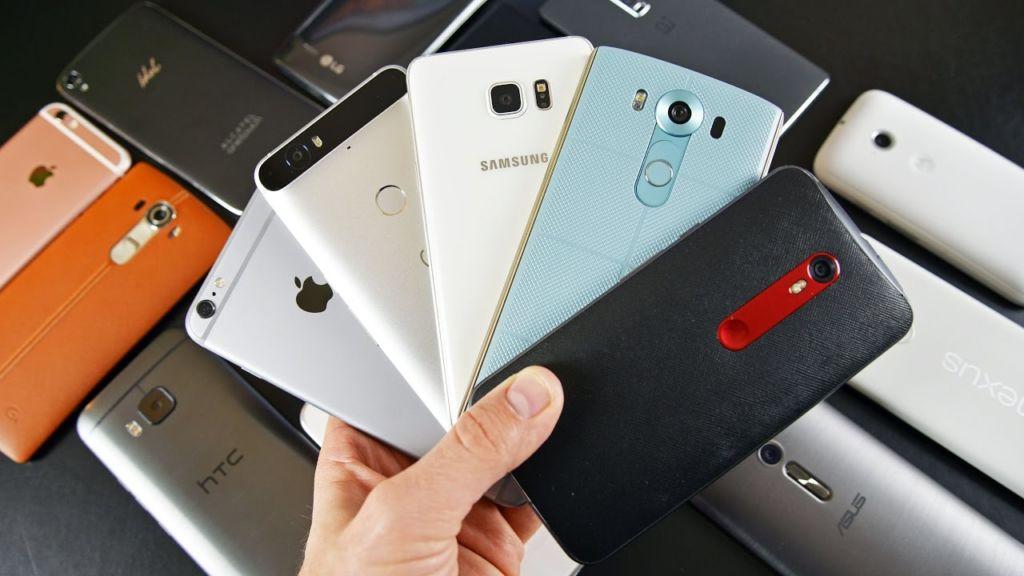 top 10 smartphones france 2017