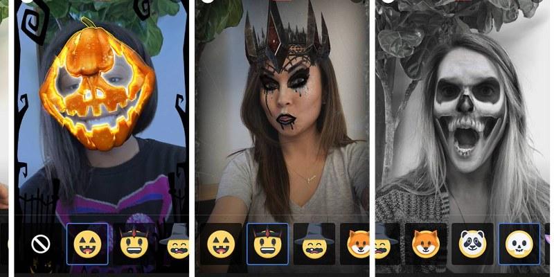 filtres halloween