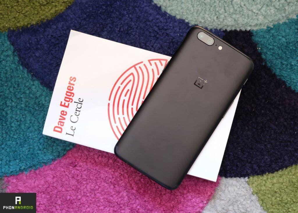OnePlus 5t design borderless
