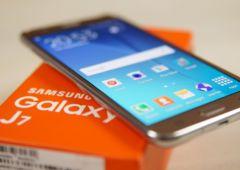 Samsung Galaxy J7 explosion