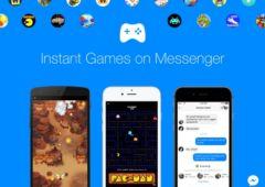 facebook messenger jeux pubs