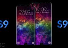 galaxy s9 encoche concept iphone x