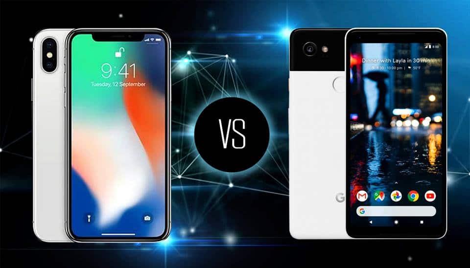 google pixel xl 2 vs iphone x