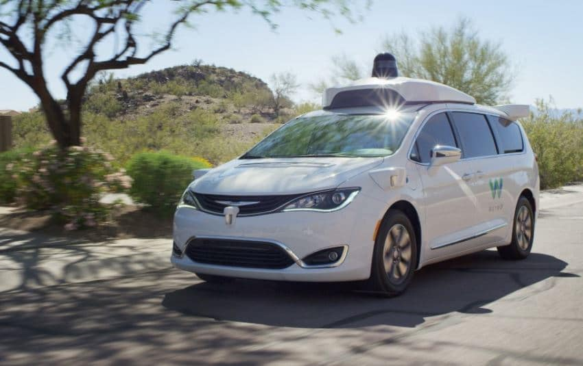 google voiture autonome waymo