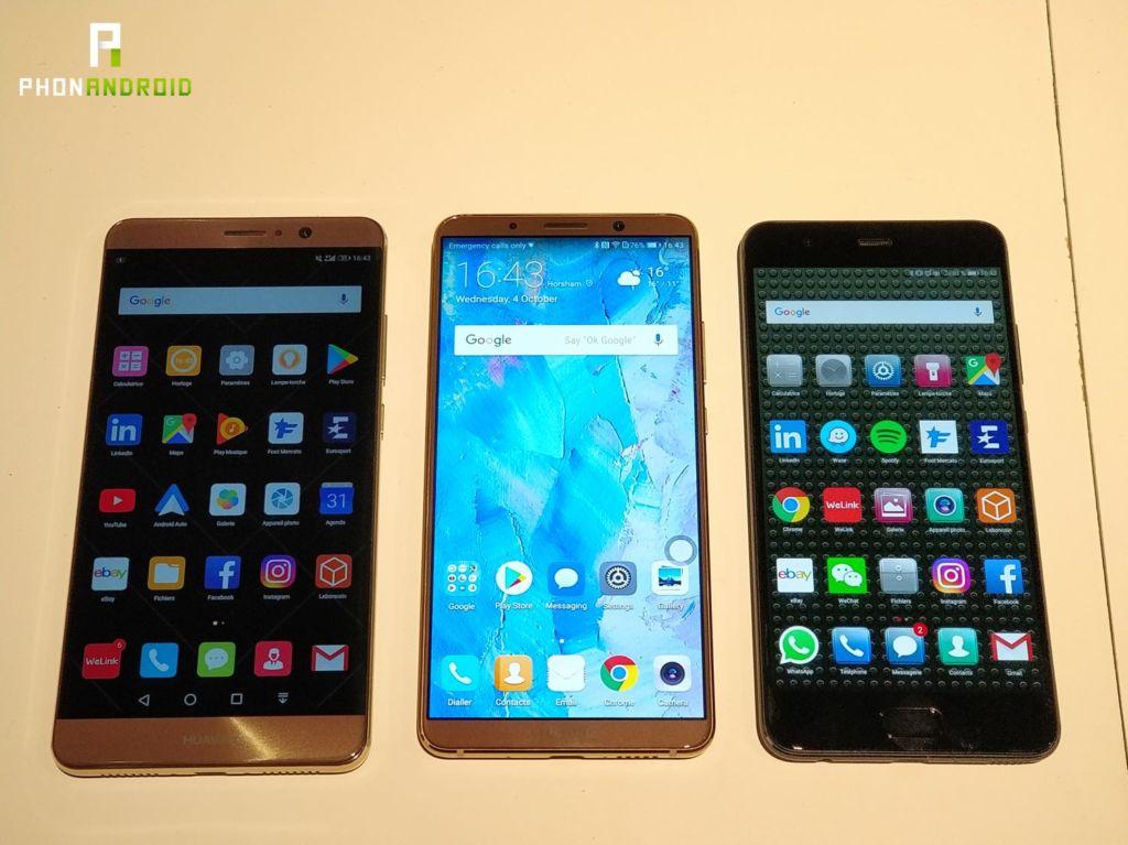 Mate 10 Pro VS Mate 9 VS P10 : la bataille des smartphones haut de