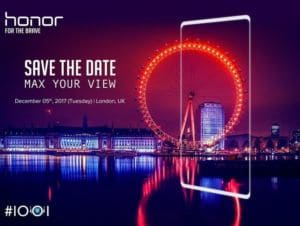 honor smartphone borderless