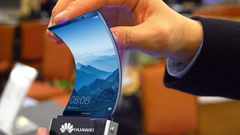 huawei smartphone pliable 2018