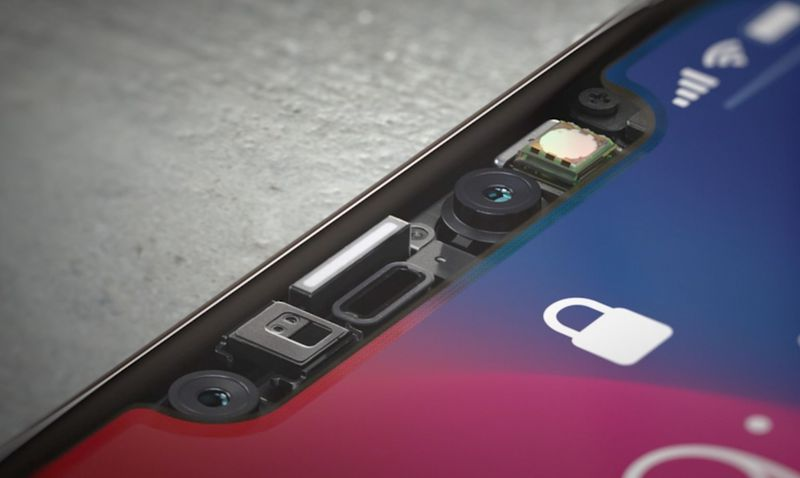 iphone x face id technologie