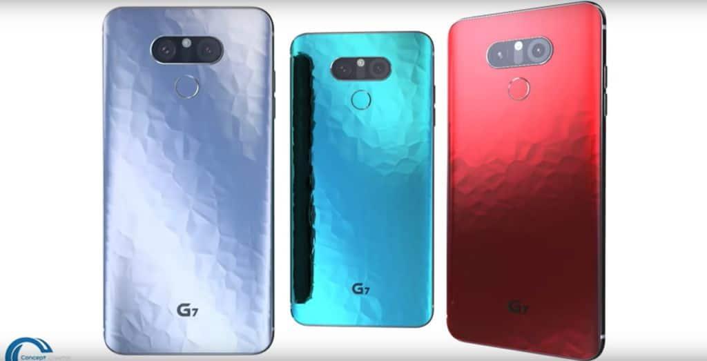 lg g7 concept vidéo