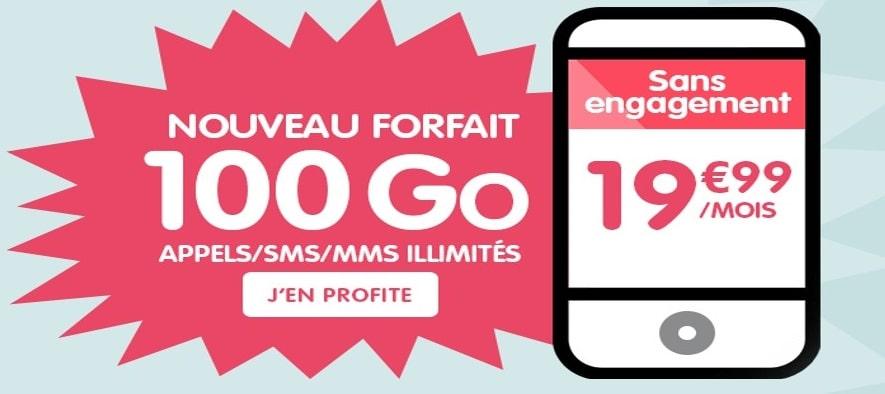 nrj mobile woot 100 Go