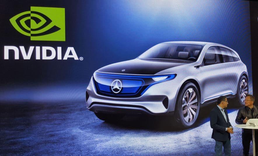 nvidia voiture autonome