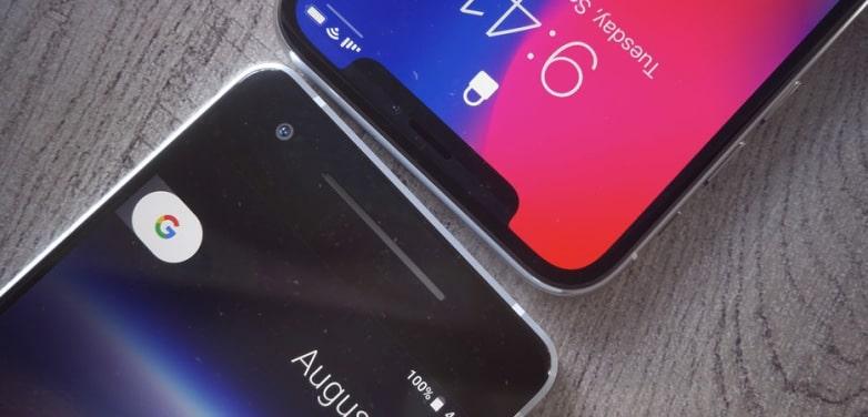 iphone x pixel 2 apple google