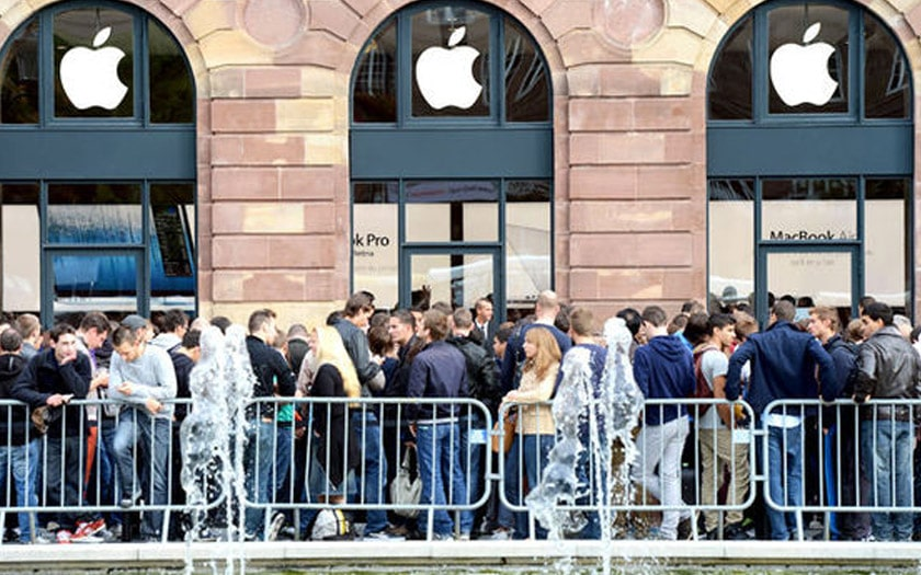 queue apple store iphone x