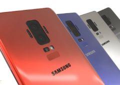 samsung galaxy S9 dos different galaxy S8