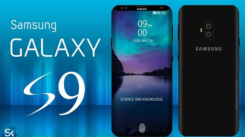 samsung galaxy S9 scanner empreintes digitales