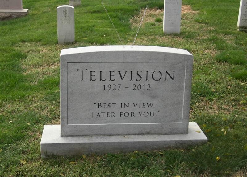 télévision morte bva institut