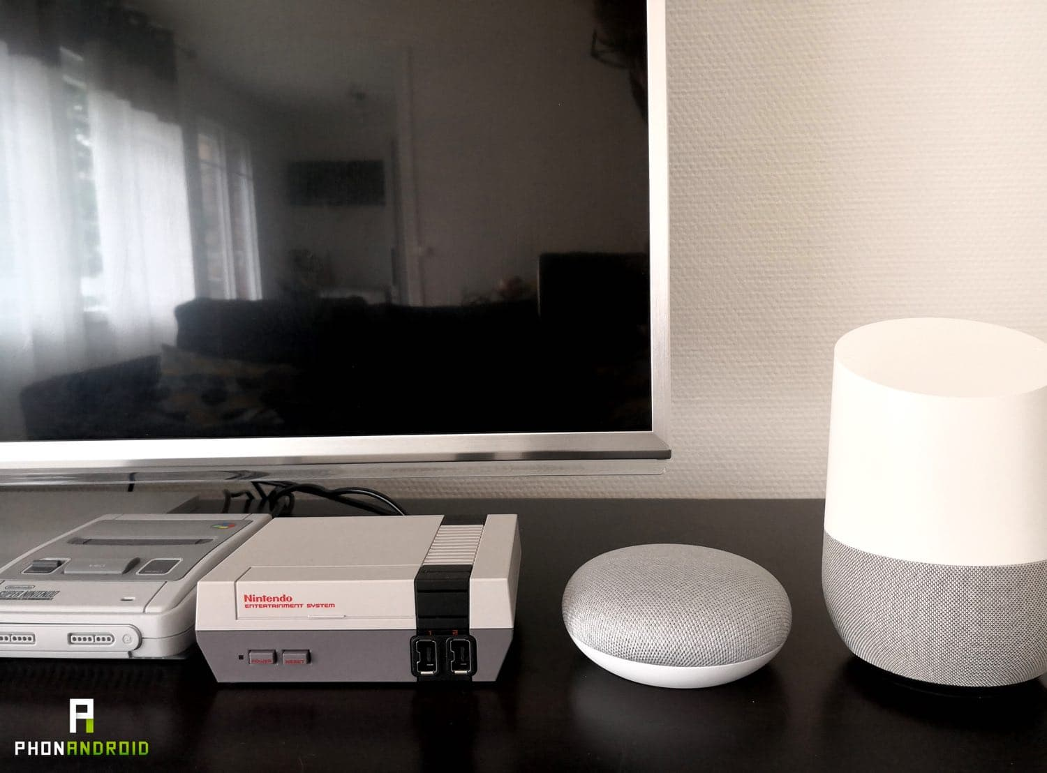 test google home mini enceinte connectee