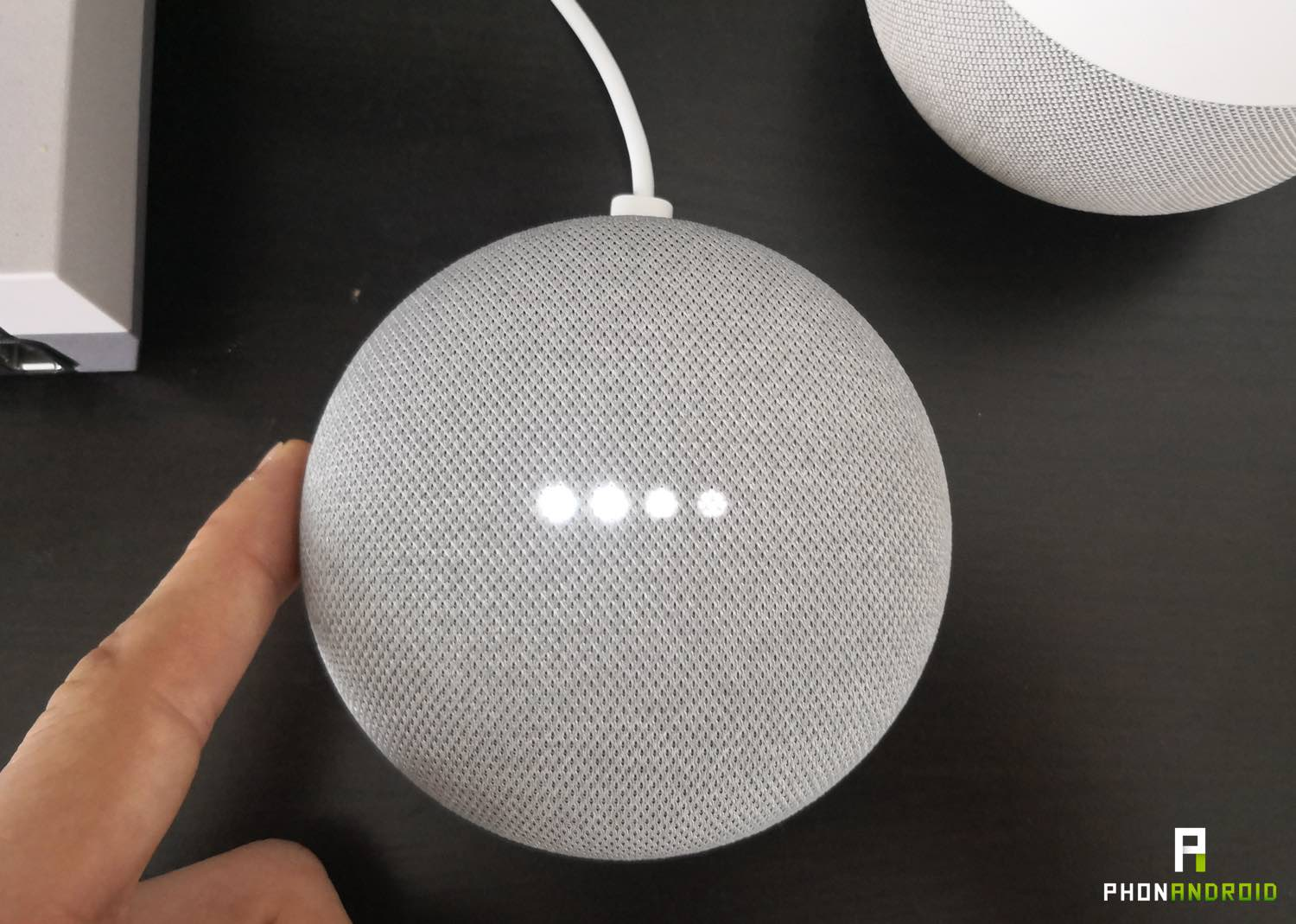 test google home mini volume