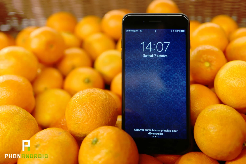 test iphone 8 plus autonomie