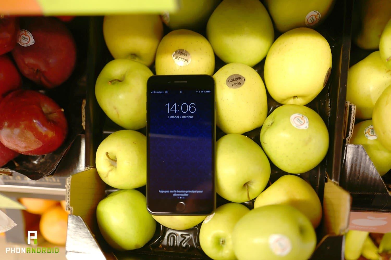 test iphone 8 plus performances