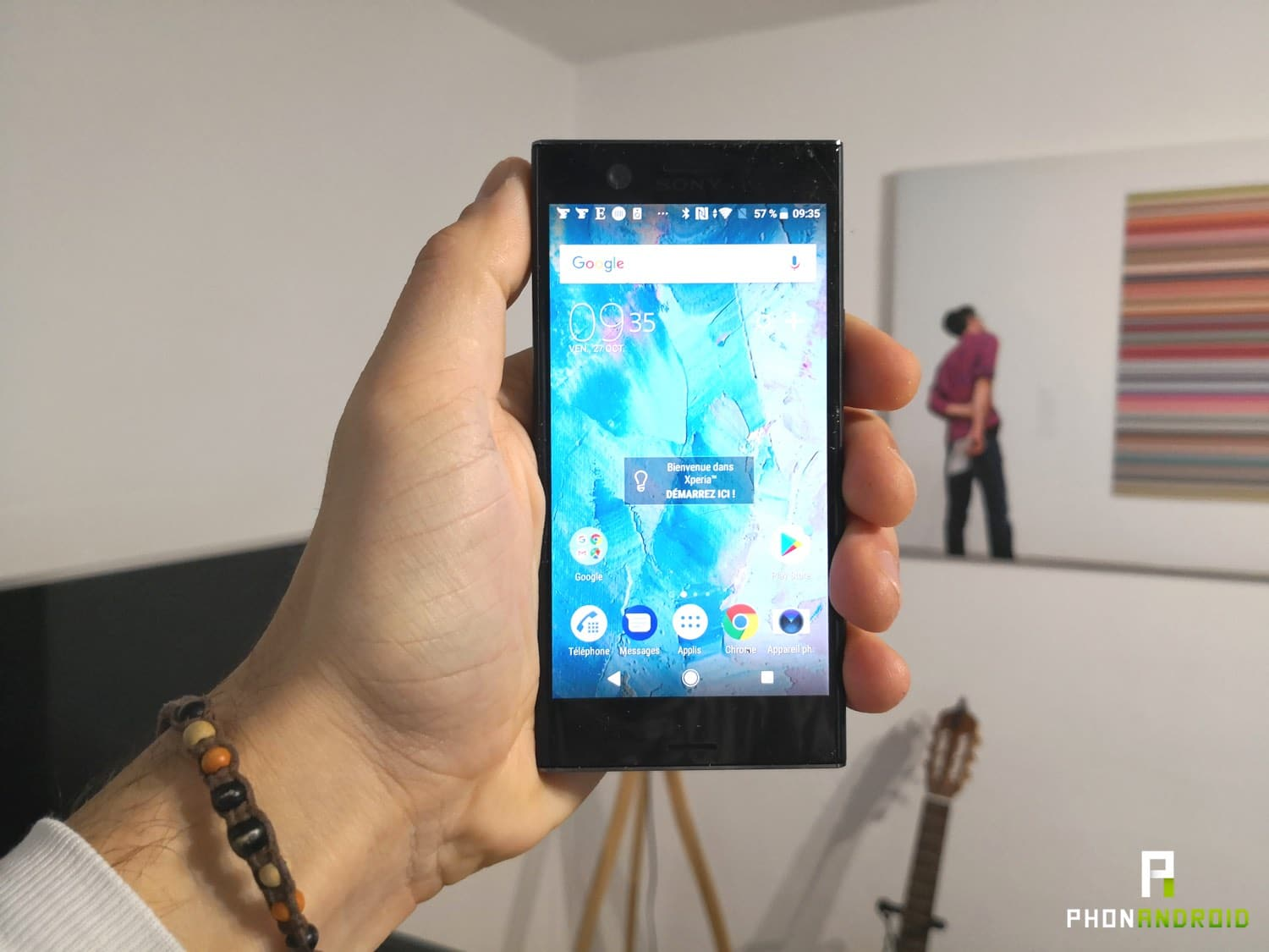 Test sony xperia xz1 compact le smartphone l 39 ancienne for Test ecran photo