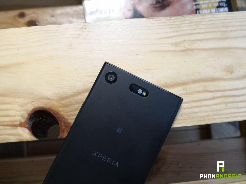 test sony xperia xz1 compact design appareil photo