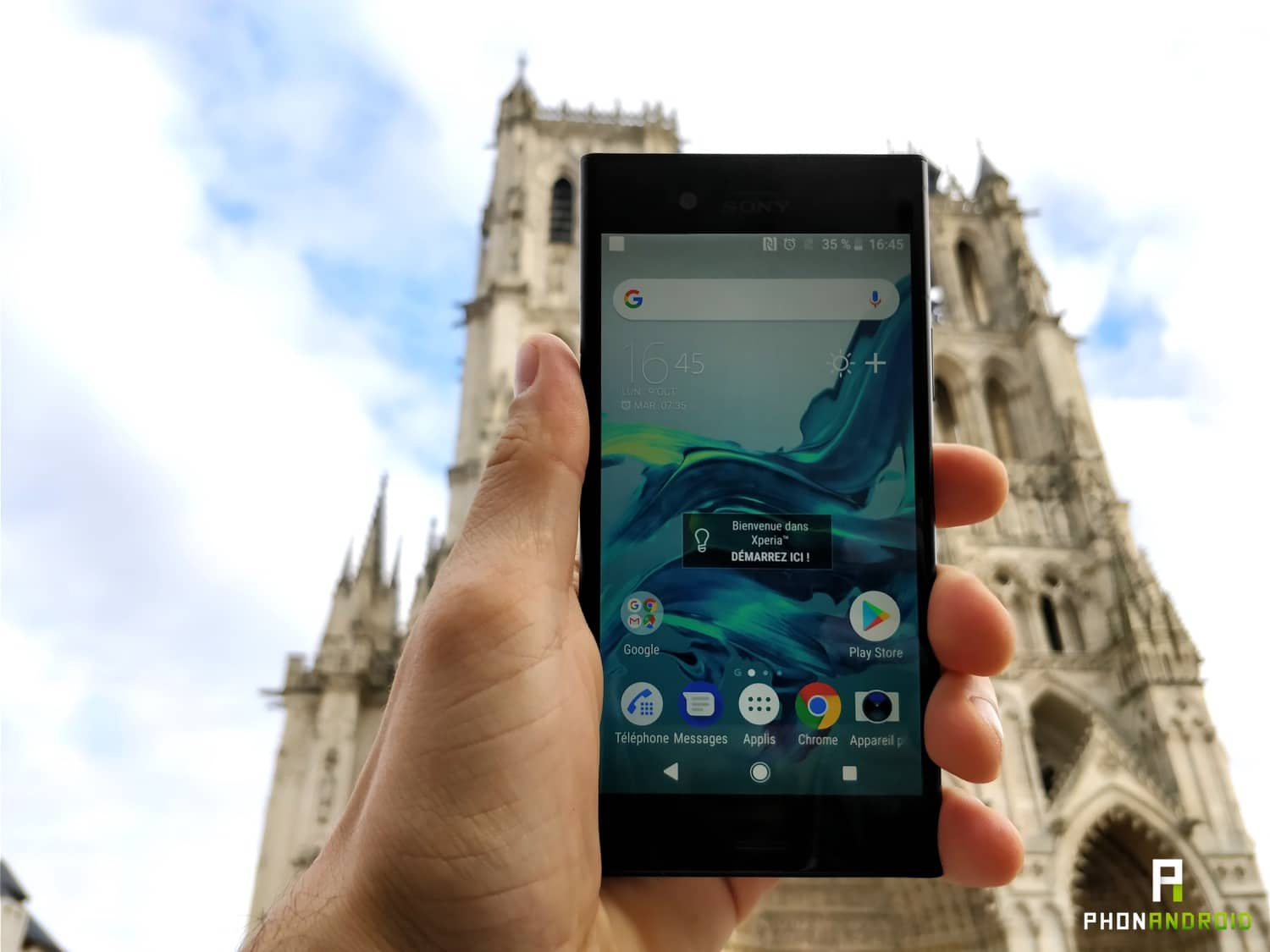 test sony xperia xz1 full review
