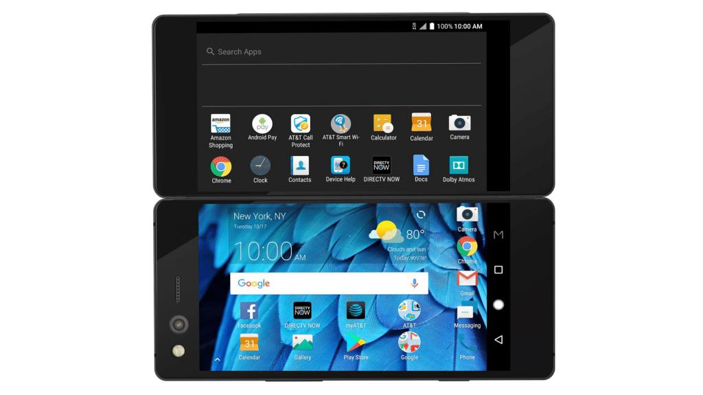 Zte Axon M Officiel Le Smartphone Aux Deux 233 Crans En