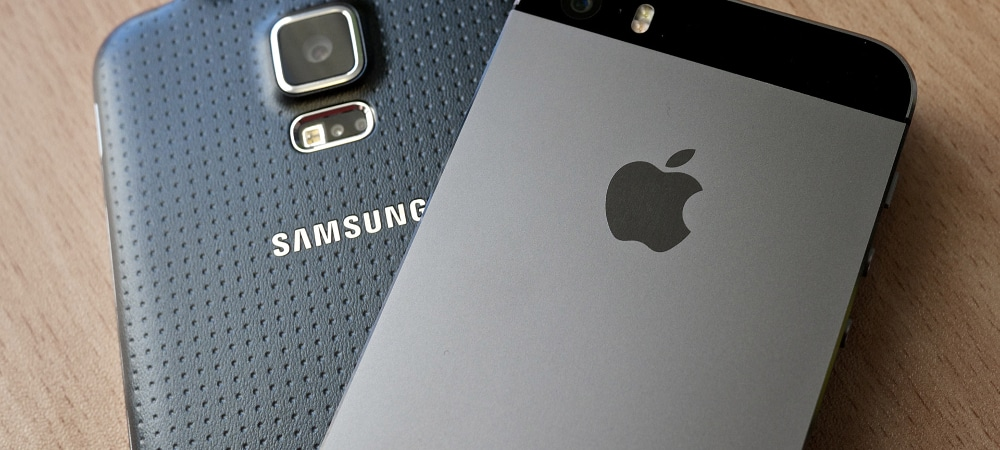 galaxy note samsung apple iphone